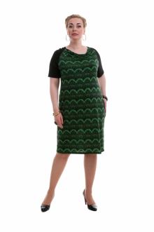 """Платье """"Олси"""" 1405011 ОЛСИ (Зеленый)"""