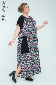 """Платье """"Её-стиль"""" 2030 ЕЁ-стиль (Чёрный)"""